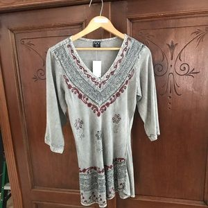 3/4 sleeve blouse from IVY